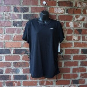 NWT Women's Nike Cinched Performance Top